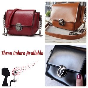 Handbags - ‼️FINAL SALE‼️Vegan Leather Purse
